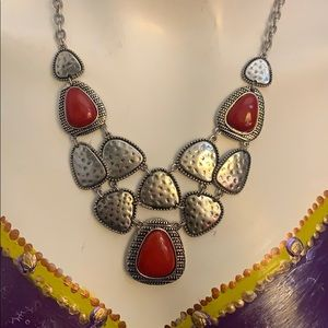 NWT Ruby Rd statement necklace!